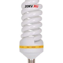 Лампа спираль КЭЛ-FS Е27 55Вт 6500К ИЭК