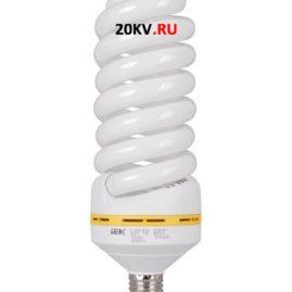 Лампа спираль КЭЛ-FS Е27 65Вт 6500К ИЭК