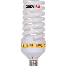 Лампа спираль КЭЛ-FS Е40 85Вт 6500К ИЭК