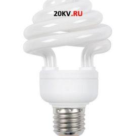 Лампа спираль КЭЛ-ZS Е27 85Вт 4000К ИЭК