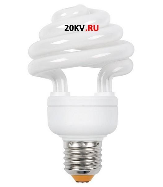 Лампа спираль КЭЛ-ZS Е40 105Вт 4000К ИЭК