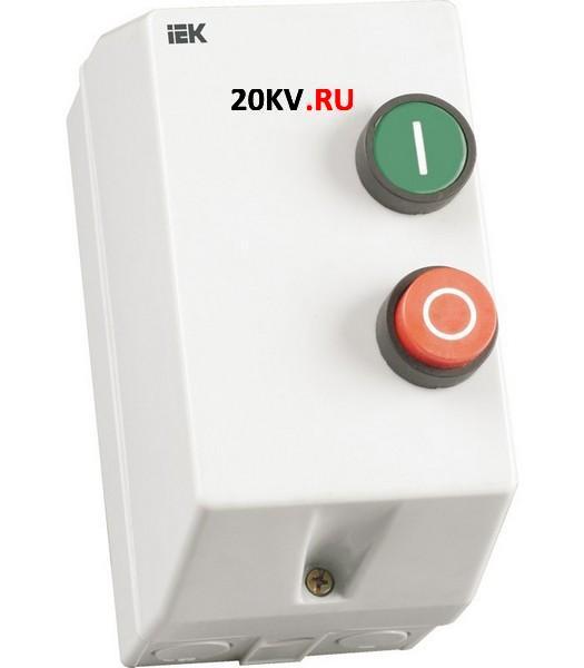 Миниконтактор МКИ-11211 12А 400В/АС3 1Н3 ИЭК