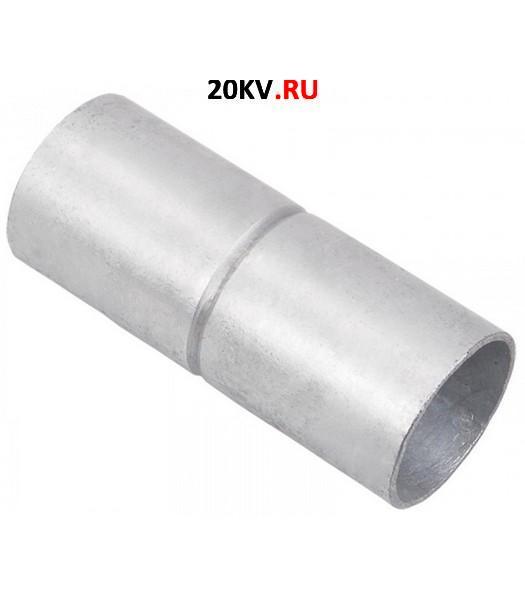 Муфта безрезьбовая металл оцинкованная d40 мм