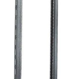 """Однорамная стойка 19"""" 32U 600x600 на роликах (LF35-32U66-1R)"""
