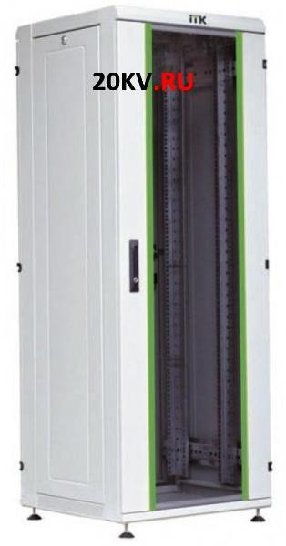 "Шкаф сетевой 19"" LINEA N 33U 600х600 мм дверь металл (LN35-33U66-M)"