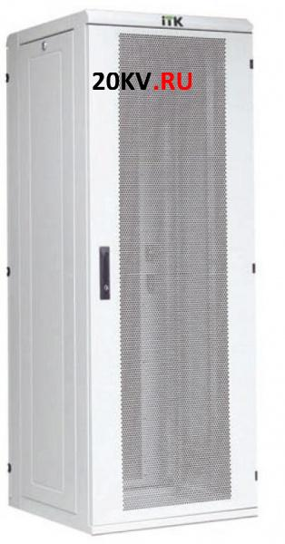 "Шкаф сетевой 19"" LINEA N 42U 600х600 мм дверь металл (LN05-42U66-M)"
