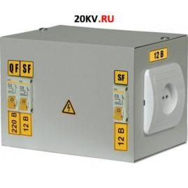 Ящик с понижающим трансформатором ЯТП-0,25 220 УХЛ4 IP30