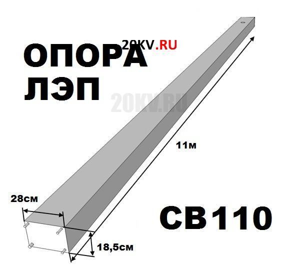 Железобетонные стойки св 110 потребность жби завода