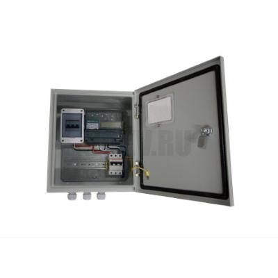 Шкаф с трёхфазным прибором